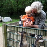 Lukas und sein Opa Martin